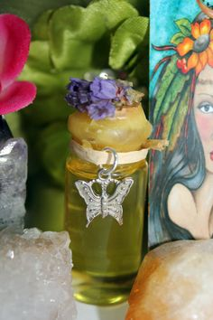 Pagan, Wicca, Witchcraft, Old World Magic, Herbal Alchemy, Magical Apothecary, Metaphysical, Sacred Anointing Oil, for Ritual & Ceremony to be used for Meditation and Ritual to connect with the abundant energy of the Tarot Empress $9.99 https://www.etsy.com/listing/162466714/women-of-the-tarot-empress-pagan-wiccan?ref=shop_home_active