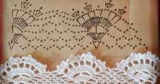 BICO DE CROCHÊ PASSO A PASSO Crochet Lace, Sewing Stitches, Crochet Edgings, Mandalas, Crocheting, Dots, Tejidos, Crochet Trim, Filet Crochet