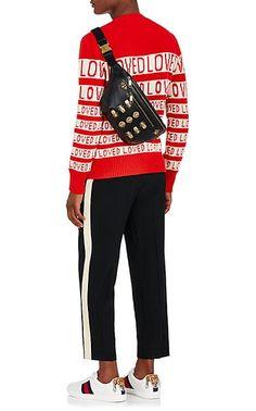 987ed5235b3 Gucci Embellished Belt Bag - Messengers - 505293495 Embellished Belt,  Leather Belt Bag, Gucci