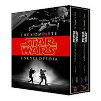 It's already out of date and is not cheap, but The Complete Star Wars Encyclopedia is a must-have reference work for fans and writers.