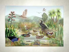 Wetland Poster on Behance