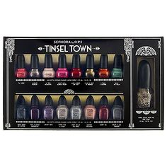 SEPHORA by OPI Tinsel Town Collector's Edition. I just got this set and I'm in loooove!
