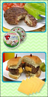 Turn your cheeseburgers inside out!!! We've got stuffed #burger recipes, like our Outside-In Cheeseburger Patty, & tips!!!