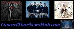 In This Moment 2015 North American Tour Schedule Breaking Benjamin, Music Tours, Papa Roach, Halestorm, Rob Zombie, American Tours, Concert Tickets, Linkin Park, Classic Rock