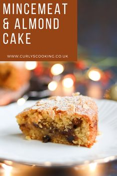 Cake Mix Recipes, Baking Recipes, Cookie Recipes, Dessert Recipes, Desserts, Mincemeat Cake, Christmas Cooking, Christmas Entertaining, Christmas Recipes