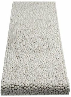Design Ideas BeachStone Runner, White by Design Ideas. $45.00. 90% polished river rocks/ 10% Nylon Plastic. Add creative, unique décor to your home. Do not expose your Beach Stone to excessive heat. Each Beach Stone piece is created by hand using river rocks that are washed and polished before affixing to plastic netting. Design Ideas Beach Stone Runner-White