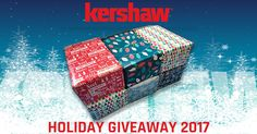 Enter to win a holiday giveaway package from Kershaw.