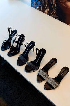 NEW IN Alexander Wang Kayla High Heel Sandal, Nova High Heel Sandal & Jo Low Heel Logo Sandal available online now at ww Cute Shoes, Me Too Shoes, High Heels, Shoes Heels, Stiletto Heels, Zanotti Heels, Sneaker Heels, Sneakers, Luxury Shoes