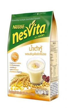 Nestle Nesvita Soy Milk with Wholegrain Instant Breakfast Drink 300g. (25g.x12 Sachets / Pack) * Continue to the product at the image link.