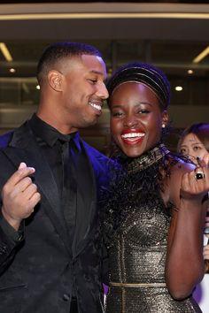 OK, Lupita Nyong'o and Michael B. Jordan Are Cute Together, Like, Really Cute