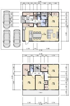 Small Apartment Plans, Small Apartments, Japanese House, House Floor Plans, Layout, Flooring, How To Plan, Architecture, Home Decor