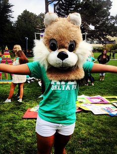 Alpha Gamma Delta Bid Day #AlphaGammaDelta #AlphaGam #BidDay #squirrel #sorority