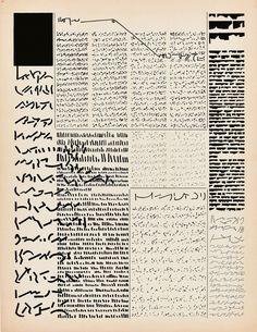 "Mirtha Dermisache // ""asemic writing"""