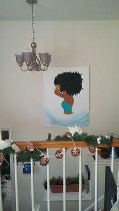 Mandie Dunn. Local Greensboro Artist.