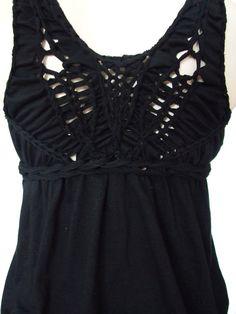 Black Widow Babydoll Tunic Sexy Classy Open by YudelevitzDesign, $38.00