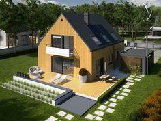 Budynek niskoenergetyczny o zużyciu energii użytkowej do ogrzewania i wentylacji poniżej 40 kWh/m