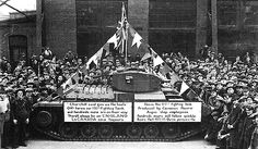 Usine de fabrication de chars d'assaut à Montréal 1941