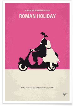 Roman Holiday - Chungkong - Affiche premium
