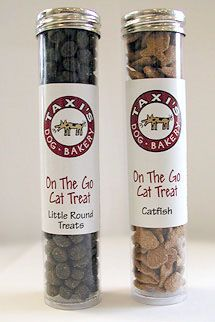 cat treats - idea for grand opening giveaways