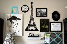 Diário de Adolescentes: Decoração : Paris