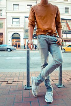 Simple men's style
