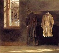 Andrew Wyeth, beautiful minimalism.