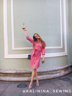 Розовый фламинго / Lidiya_555 / 13.06.2018 / Фотофорум на BurdaStyle.ru