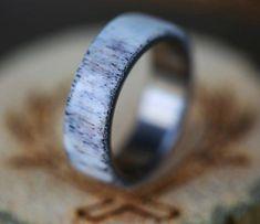 Diamond Wedding Rings For Her Black Wedding Rings, Custom Wedding Rings, Wedding Ring Designs, Diamond Wedding Rings, Diamond Engagement Rings, Wedding Men, Wedding Bands, Whiskey Barrel Wedding, Ring Pictures