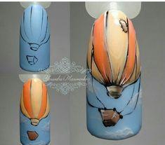 21 ideas gel manicure colors nail tutorials for 2019 Manicure Colors, French Manicure Designs, Diy Manicure, Nail Colors, Nail Art Designs, Nail Tutorials, Design Tutorials, Orange Nail Designs, Glitter French Manicure