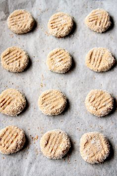 My Happy Place: honey peanut butter & coconut cookies