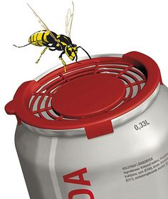 The bee safe cap keeps those little bee's at bay