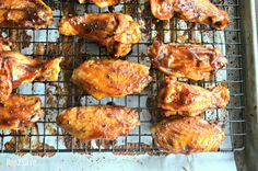Honey BBQ Baked Chicken Wings – Hip2Save
