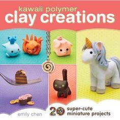 Kawaii Polymer Clay Creations #polymerclayjewelry