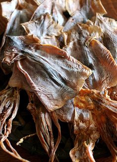 Japanese Surume-Ika, Natural Wind-Dried Squid|するめイカ