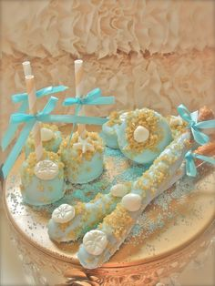 Edible Wedding Favors Beach Seashells Complete by FrosttheCake
