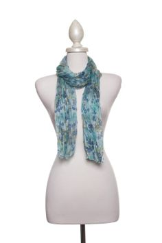 Dressing Your Truth - Type 2 Green Garden Scarf