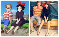 Kiki's delivery service costumes! @Carolyn Knecht