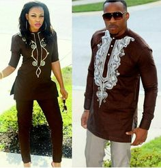 2019 African Couple Dress African Suits For Women And Men Riche Embroidery Design Dashiki Shirt Pant Set Outfit Suit Clothes African Dresses For Women, African Print Dresses, African Attire, African Wear, African Fashion Dresses, African Women, African Suits, African Clothes, Ankara Fashion