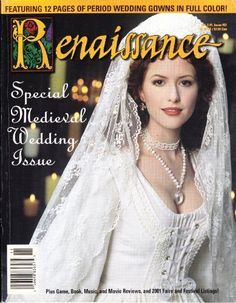 acfafde84dc Renaissance Magazine 2001 Special Medieval Wedding Issue  21 Volume 6  1 by  on amazon
