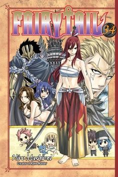 Crunchyroll - Store - Fairy Tail Manga Vol. 34 Looks so cool