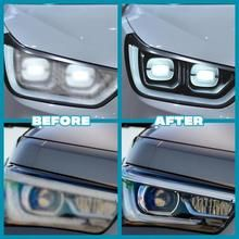 Headlight Repair, Headlight Cleaner, Car Cleaning Hacks, Cleaning Solutions, Fixer Upper Bedrooms, Blurry Lights, How To Clean Headlights, Portable Air Compressor, Car Storage