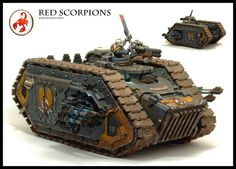 Red Scorpions Spartan Assault Tank by Relaxdesign Minis, via Flickr