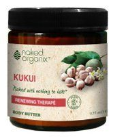Kukui Body Butter - 4 oz - Cream by Organix South. $11.60. Hand-Crafted with the Finest Quality Organic Oils Why Kukui?Kukui oil, also known as Candlenut, is a tropical tree that originated in Indo-Malayasia and spread to the Hawaiian islands where it has been prized for its soothing benefits. Organix South. Kukui Body Butter by Organix South 4 oz Cream Kukui Body Butter Kukui oil also known as Candlenut is a tropical tree that originated in Indo-Malayasia and spread to the...