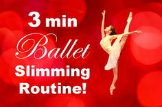 How To: Get a Toned & Fit Body in 3 Minutes! Easy Slimming Ballet Exerci...