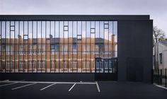 Gymnasium and Town Hall Esplanade by LAN Architecture | urdesign magazine