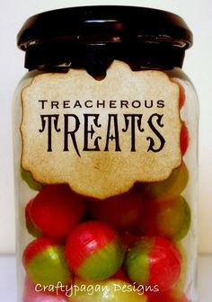 Treacherous treats: fun food for Halloween