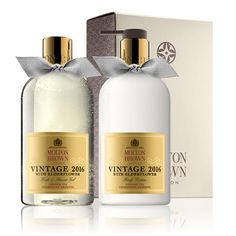 Molton Brown USA  Limited Edition Vintage 2016 With Elderflower Body Care Set