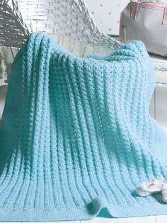 free knit afghan patterns | Top 10 Free Afghan & Throw Knitting Downloads