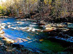 River Photograph - Mill Road Series 10 by Elizabeth Tillar