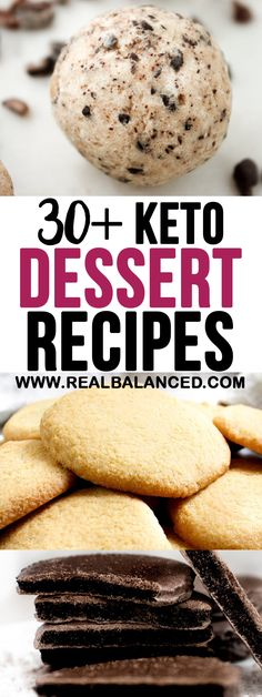 On the hunt for more keto-friendly dessert recipes? Look no further than these 30+ delicious and low-carb sweet treats! This list includes fat bombs, baked goods, and holiday treats!